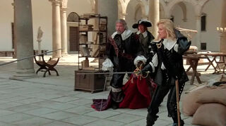 Justine de Winter (played by Kim Cattrall) The Return of the Musketeers 823
