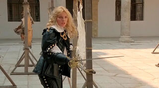 Justine de Winter (played by Kim Cattrall) The Return of the Musketeers 805