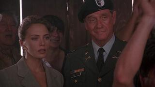 Michelle Rodham Huddleston (played by Brenda Bakke) Hot Shots 2 09