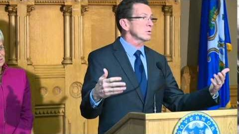Gov. Dannel Malloy's press conference after re-election