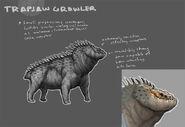 Evolve-Trapjaw Concept Art