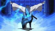 Sasuke entrenando