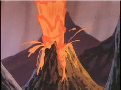 Olympus Mons volcans