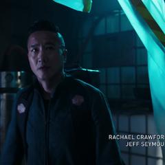 Rachael Crawford as Admiral J. Peñano; Jeff Seymour as Pyotr Korshunov
