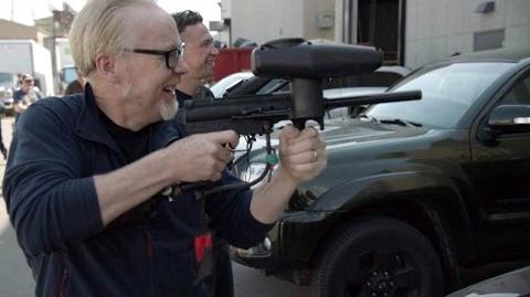 Adam Savage Shoots an Expanse Prop Machine Gun!
