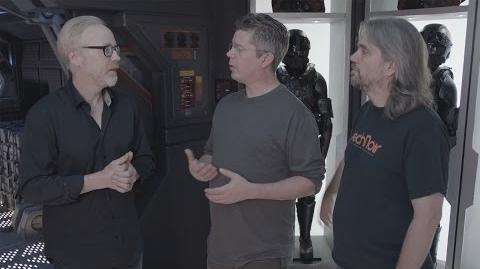 Adam Savage Interviews the Creators of The Expanse!
