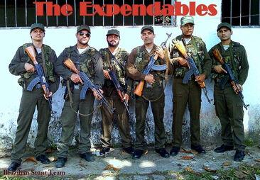 Dino Dos Santos Expendables photo diary via IMDb profile
