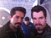 SA and stunt double