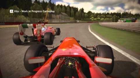 """F1 2011 - """"Compete on the Go"""" PS Vita Trailer"""