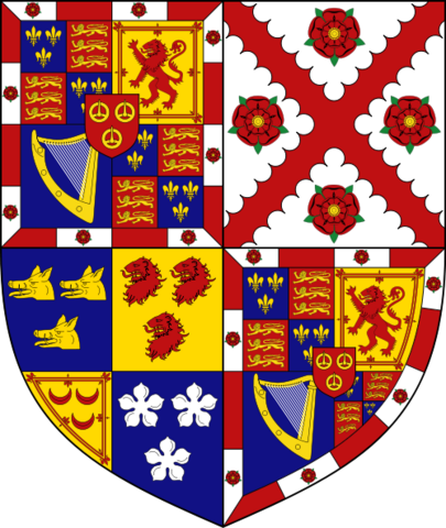 File:Coat of Arms of the Duke of Richmond.png