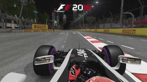 F1 2016 - Singapore Hot Lap