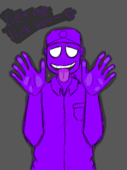 Fnaf purple guy by siempreconmiigoo-d8aezkh