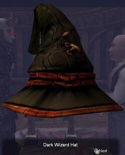 Dark Wizard Hat