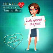 Allison Heart Spread the fun