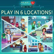 Heart's Medicine 6 Locations