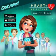 Heart's Medicine Out Now to Mobile