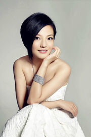 Zhao Wei White Dress Necklace