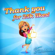 Fabulous Angela 25k likes