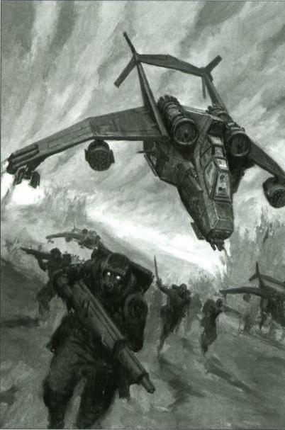 Valkyrie landing