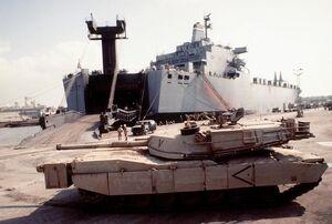 M1IP Abrams Desert Tan