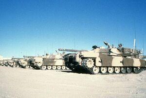 M1 Abrams MERDC Desert