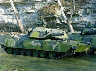M1 Abrams MERDC Camo