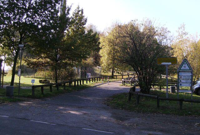 Datei:Dörferblick - Eingang.jpg
