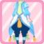 FFG New Greenery Fairy Pants sky blue