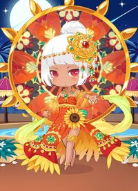DCG Dancer Of The Sun outfit