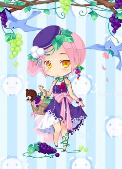 Grape Girl outfit