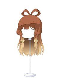 HAIR Triple-PlaitMaidenGradientChocoBeige