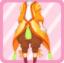 FFG New Greenery Fairy Pants orange