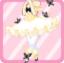 SFG Papillon Ballerine jaune