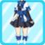 CTSG Magician Frilly Skirt blue