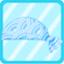 DG Sea Wave Bandana light blue