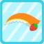 Strawberry Bandana orange