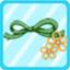 HFEG KnottedRibbonHairbandgreen