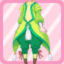 FFG New Greenery Fairy Pants green