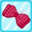 DG Chequered Ribbon Red