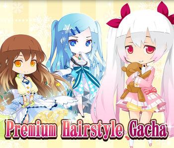 Premium Hairstyle Gacha 2 big banner