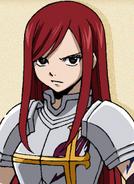 Erza Scarlet Pre Timeskip Anime Portrait