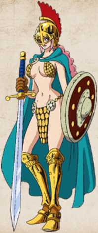 Rebecca Full Body Anime