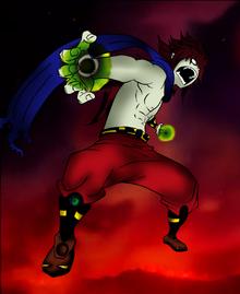 Double Omega Blaster