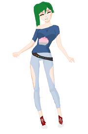 Kyokos normal outfit