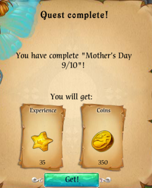 Fairy Kingdom --Mother's Day 9 of 10 reward