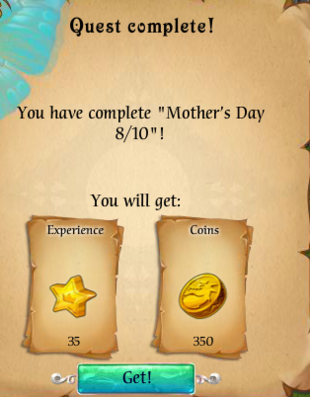 Fairy Kingdom --Mother's Day 8 of 10 reward
