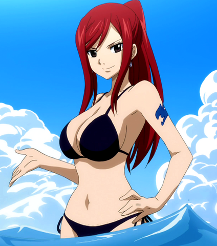 File:Erza in blac swimsuit.png