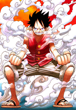 Luffy's Second Gear