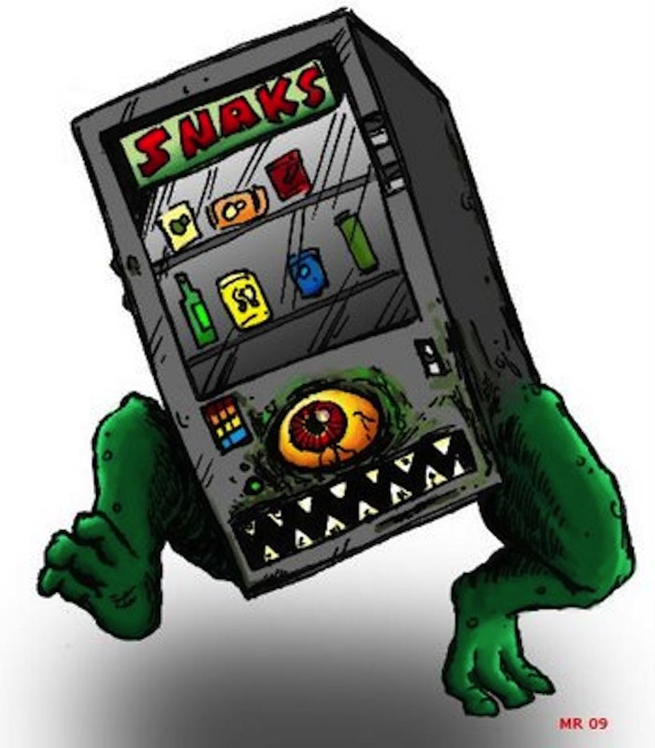 the vending machine killer