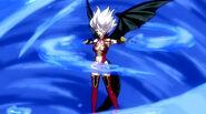 Mirajane using Evil Explosion